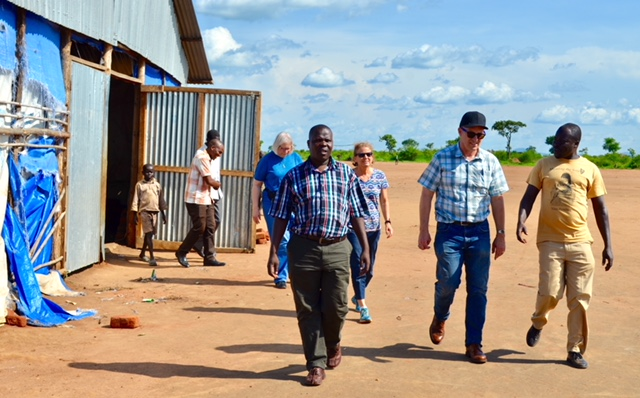By His Wounds Sudanese Refugee Leaders Training Update: Adjumani
